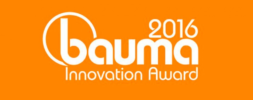 Nominiert für den bauma Innovationspreis 2016
