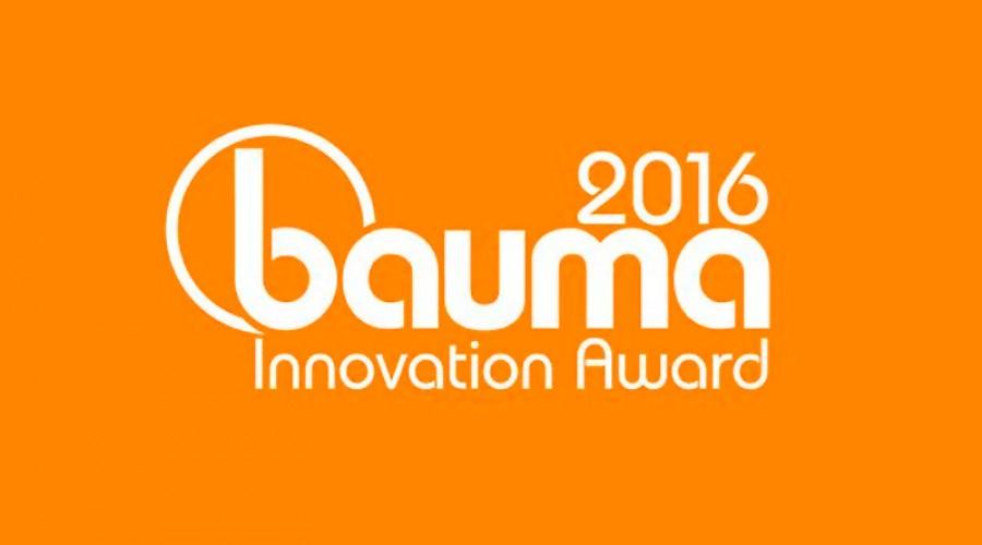 Nominiert für den bauma Innovationspreis 2016